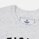 Reigning Champ Gym Logo SS Tee Men's t-shirt Snow photo- 1