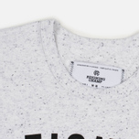 Мужская футболка Reigning Champ Gym Logo SS Tee Snow фото- 3