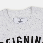 Reigning Champ Gym Logo SS Tee Men's t-shirt Snow photo- 2