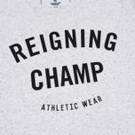 Reigning Champ Gym Logo SS Tee Men's t-shirt Snow photo- 3