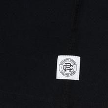 Мужская футболка Reigning Champ Knit Cotton Jersey Gym Logo Black/White фото- 3