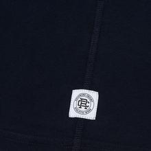Мужская футболка Reigning Champ Knit Cotton Jersey Gym Logo Navy/White фото- 3