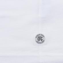 Мужская футболка Reigning Champ Knit Cotton Jersey Gym Logo White/Black фото- 4