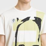Мужская футболка Rick Owens DRKSHDW Graphic Print 2 Milk/Dark Lime фото- 2