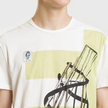 Мужская футболка Rick Owens DRKSHDW Graphic Print 3 Milk/Dark Lime фото- 2