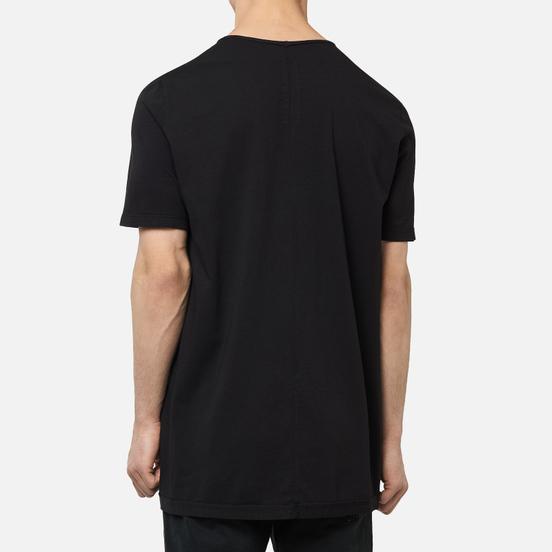 Мужская футболка Rick Owens DRKSHDW Tecuatl Pentagram Level Black/Pearl