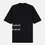 Мужская футболка Rick Owens DRKSHDW Woven Jumbo Black фото- 0