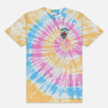Мужская футболка RIPNDIP Alien Nerm Gold Rainbow Wash фото- 0