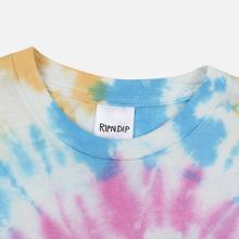 Мужская футболка RIPNDIP Alien Nerm Gold Rainbow Wash фото- 1