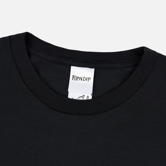 Мужская футболка RIPNDIP Angel & Devil Black