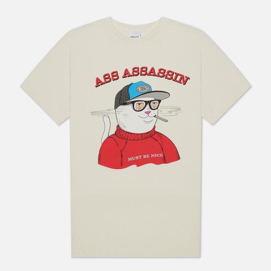 Мужская футболка RIPNDIP Ass Assasin Vintage White