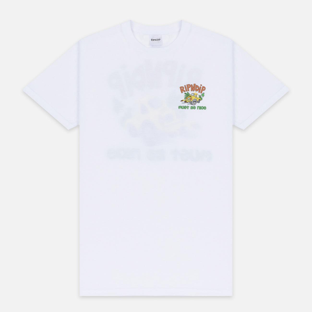Мужская футболка RIPNDIP Buggy Nerm White