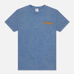 Мужская футболка RIPNDIP Burn Blue Mineral Wash