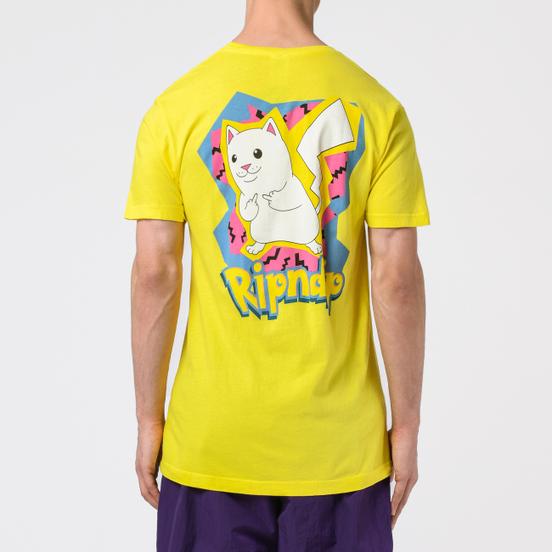 Мужская футболка RIPNDIP Catch Em All Yellow