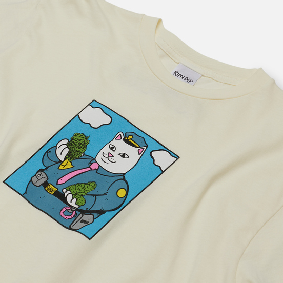 Мужская футболка RIPNDIP Confiscated Natural
