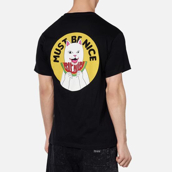 Мужская футболка RIPNDIP Delicious Black