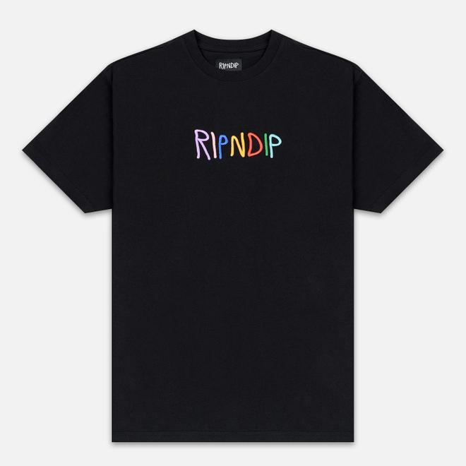 Мужская футболка RIPNDIP EMB Logo Black