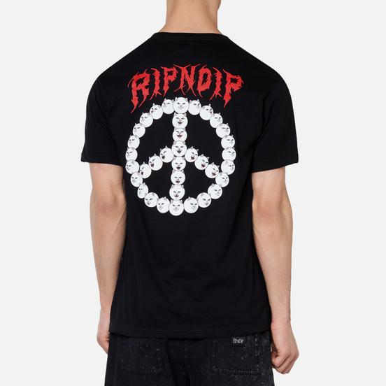 Мужская футболка RIPNDIP Expression Black