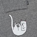 Мужская футболка RIPNDIP Falling For Nermal Pocket Grey фото- 2