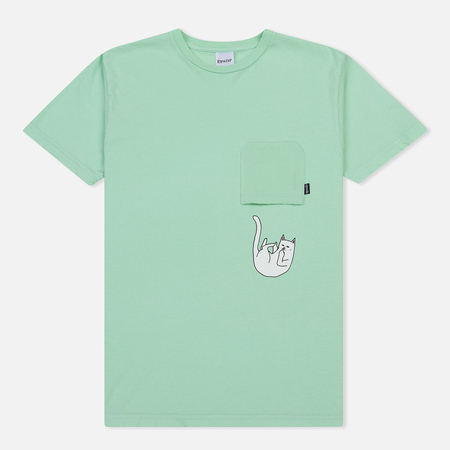 Мужская футболка RIPNDIP Falling For Nermal Pocket Pastel Green