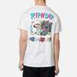 Мужская футболка RIPNDIP Hash Bros White фото - 4