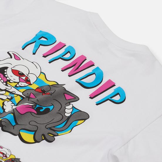 Мужская футболка RIPNDIP Hash Bros White