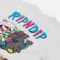 Мужская футболка RIPNDIP Hash Bros White фото - 2