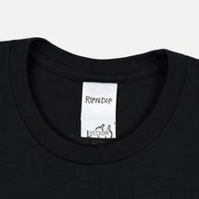 Мужская футболка RIPNDIP Herb Eater Black фото- 1