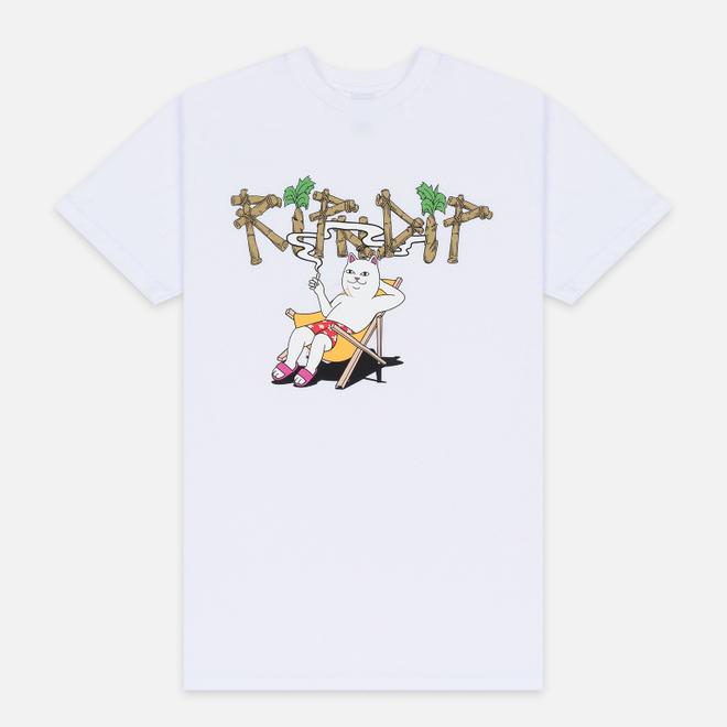 Мужская футболка RIPNDIP Island Nerm White