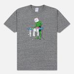 Мужская футболка RIPNDIP Laundry Day Heather Grey фото- 0