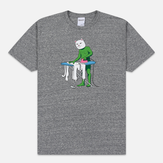 Мужская футболка RIPNDIP Laundry Day Heather Grey