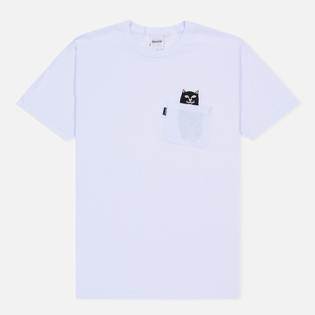 Мужская футболка RIPNDIP Lord Jermal Pocket White