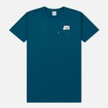 Мужская футболка RIPNDIP Lord Nermal Pocket Aqua фото- 0