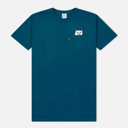 Мужская футболка RIPNDIP Lord Nermal Pocket Aqua