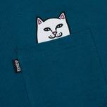Мужская футболка RIPNDIP Lord Nermal Pocket Aqua фото- 2