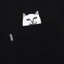 Мужская футболка RIPNDIP Lord Nermal Pocket Black фото- 2