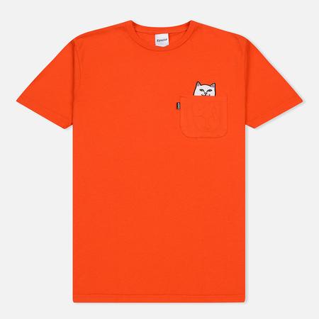 Мужская футболка RIPNDIP Lord Nermal Pocket Safety Orange