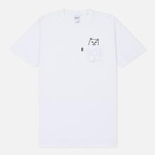 Мужская футболка RIPNDIP Lord Nermal Pocket White фото- 0