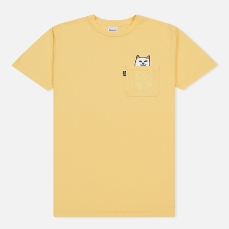 Мужская футболка RIPNDIP Lord Nermal Pocket Yellow