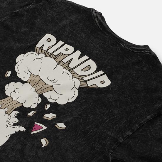 Мужская футболка RIPNDIP Mind Blown Black Mineral Wash