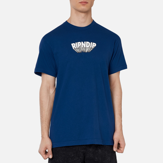 Мужская футболка RIPNDIP Mind Blown Navy
