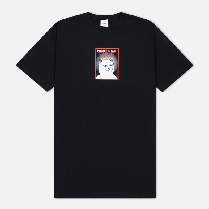 Мужская футболка RIPNDIP Nerm Of The Year Black