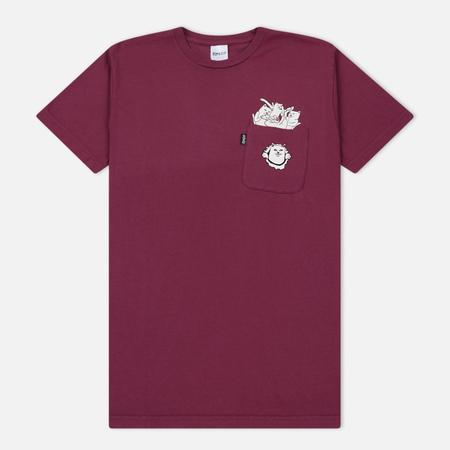 Мужская футболка RIPNDIP Nermamaniac Burgundy