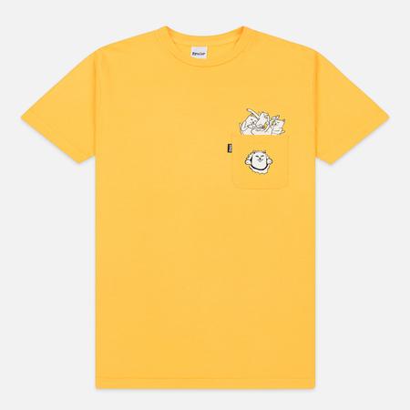 Мужская футболка RIPNDIP Nermamaniac Gold