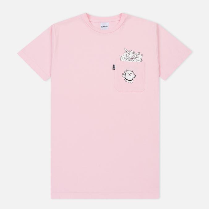 Мужская футболка RIPNDIP Nermamaniac Pink