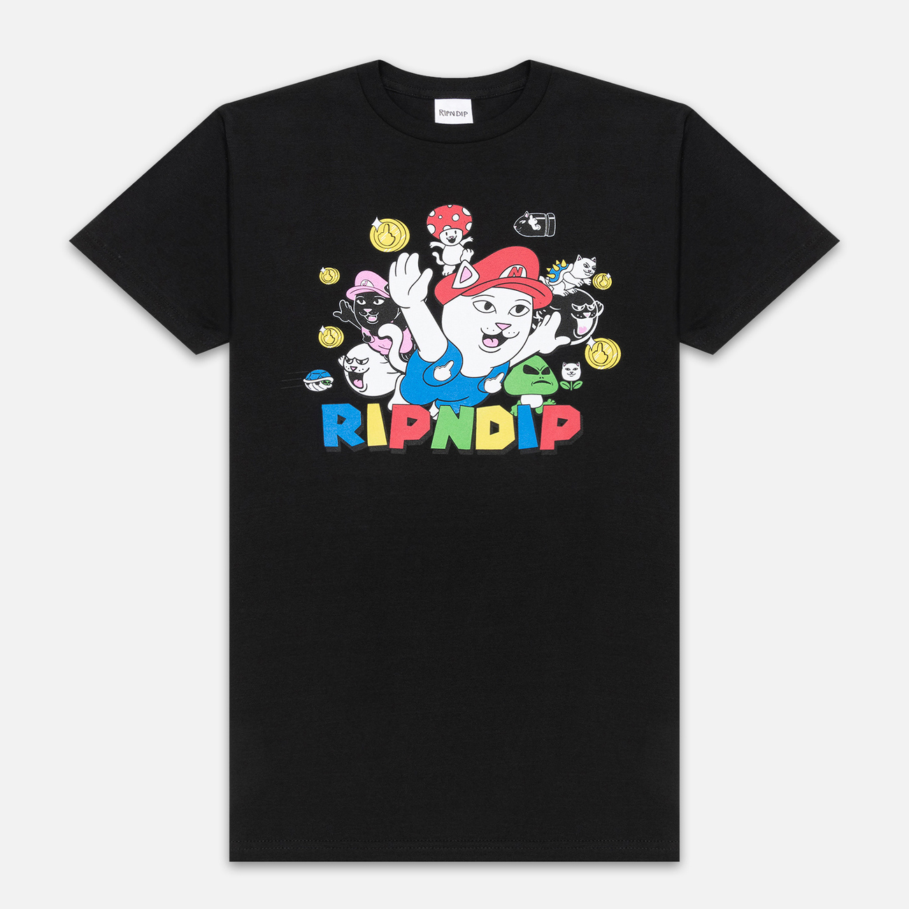Мужская футболка RIPNDIP Nermio Black