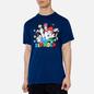 Мужская футболка RIPNDIP Nermio Navy Blue фото - 2