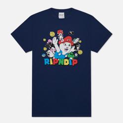 Мужская футболка RIPNDIP Nermio Navy Blue