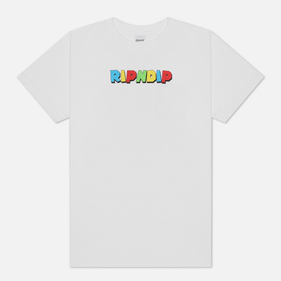 Мужская футболка RIPNDIP Nermio White