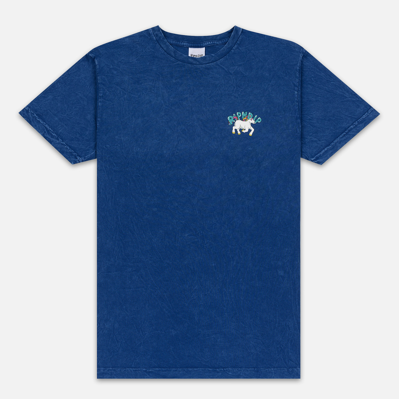 Мужская футболка RIPNDIP Nermland Blue Mineral Wash